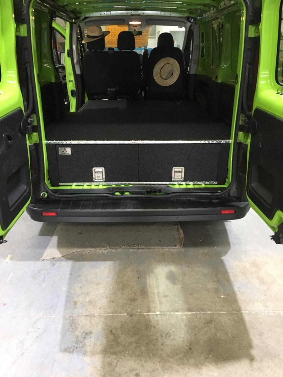 Renault Trafic 3 Drawer System Lawson Automotive